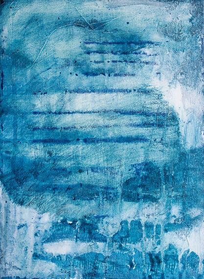 Blue landscape III