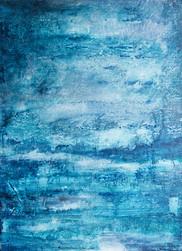 Blue landscape II