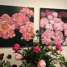 Exhibition, Peonies