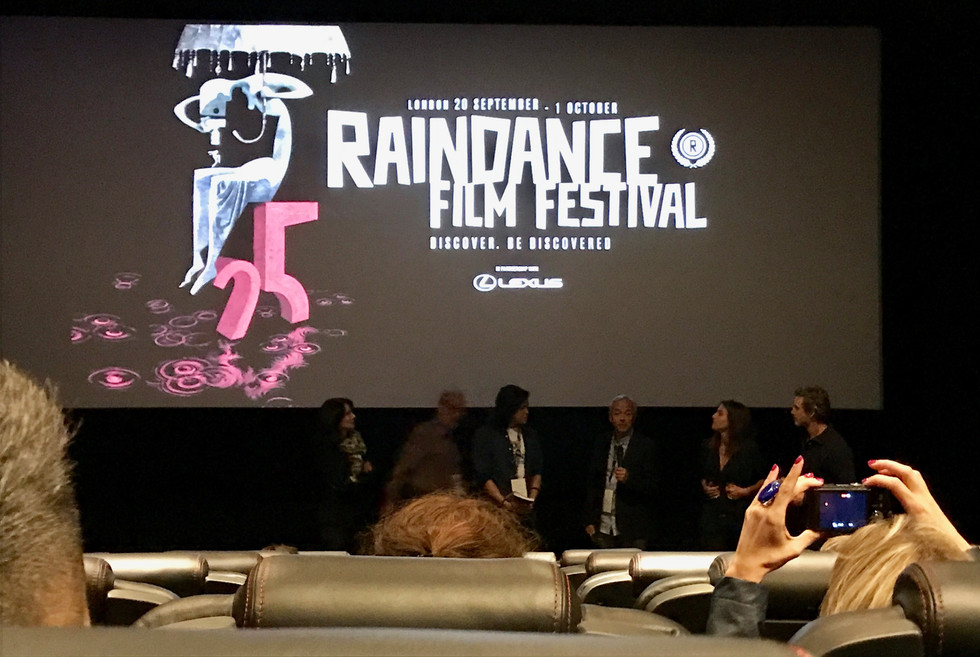 Infinite's moment at Raindance Festival in London