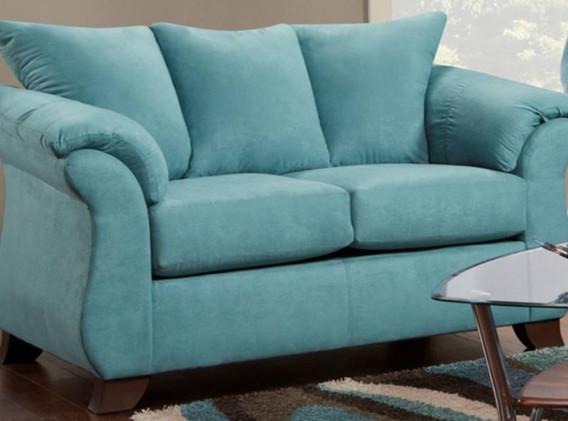 Blue Capri Couch