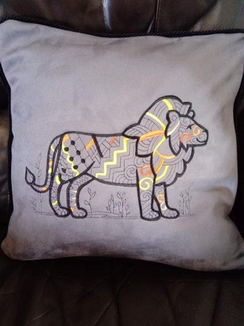 Cushion with Illustration