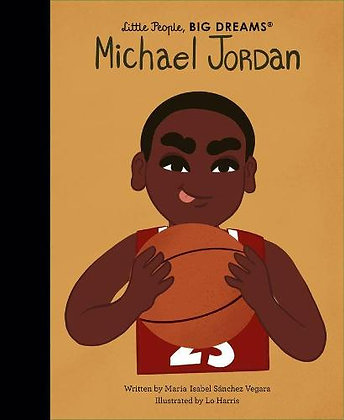Little People Big Dreams: Michael Jordan by Maria Isabel Sanchez VegaraPRE-ORDER