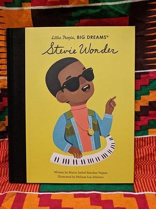 Little People, Big Dreams: Stevie Wonder by Maria Isabel Sanchez Vegara