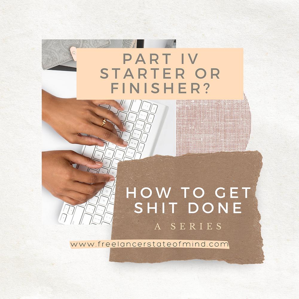 Starter or Finisher Header Image