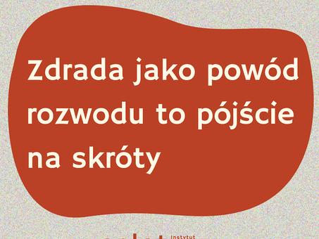 Zdrada jako powód rozwodu to pójście na skróty. Agata Stola i Robert Kowalczyk dla Gazeta.pl