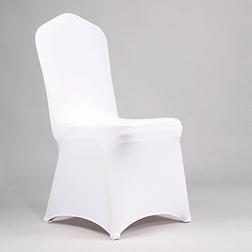 100-Pcs-Blanc-De-Mariage-Partie-Lycra-Ho