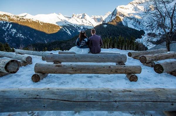 hope event mariage a la neige