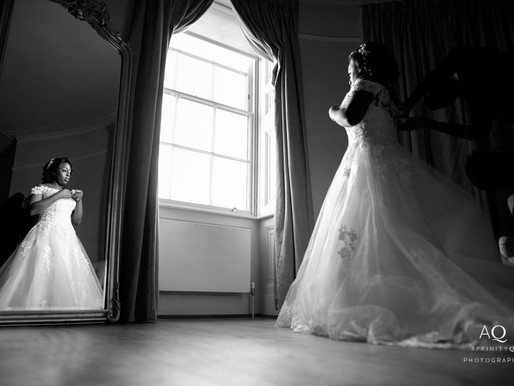 Why I love black and white wedding photos