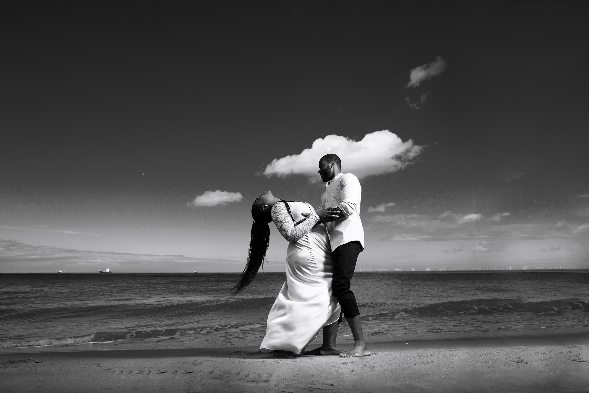 Botany Bay Engagement Shoot | Affinity Q Photography | London