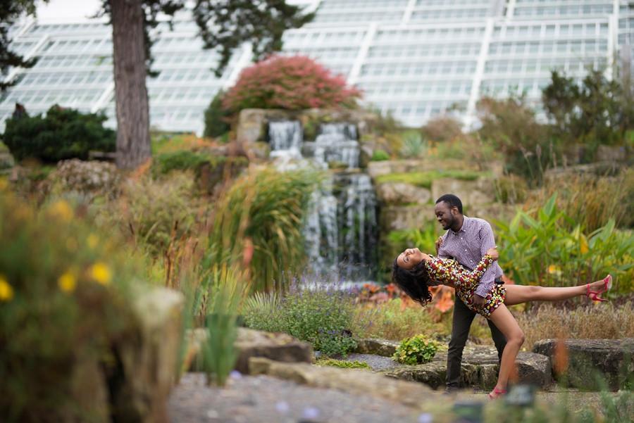 Key Gardens Engagement Shoot | Affinity Q Photography | London