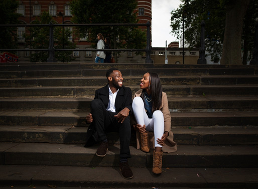 London Pre Wedding Shoot | Ebun and Owanari | London Photographer