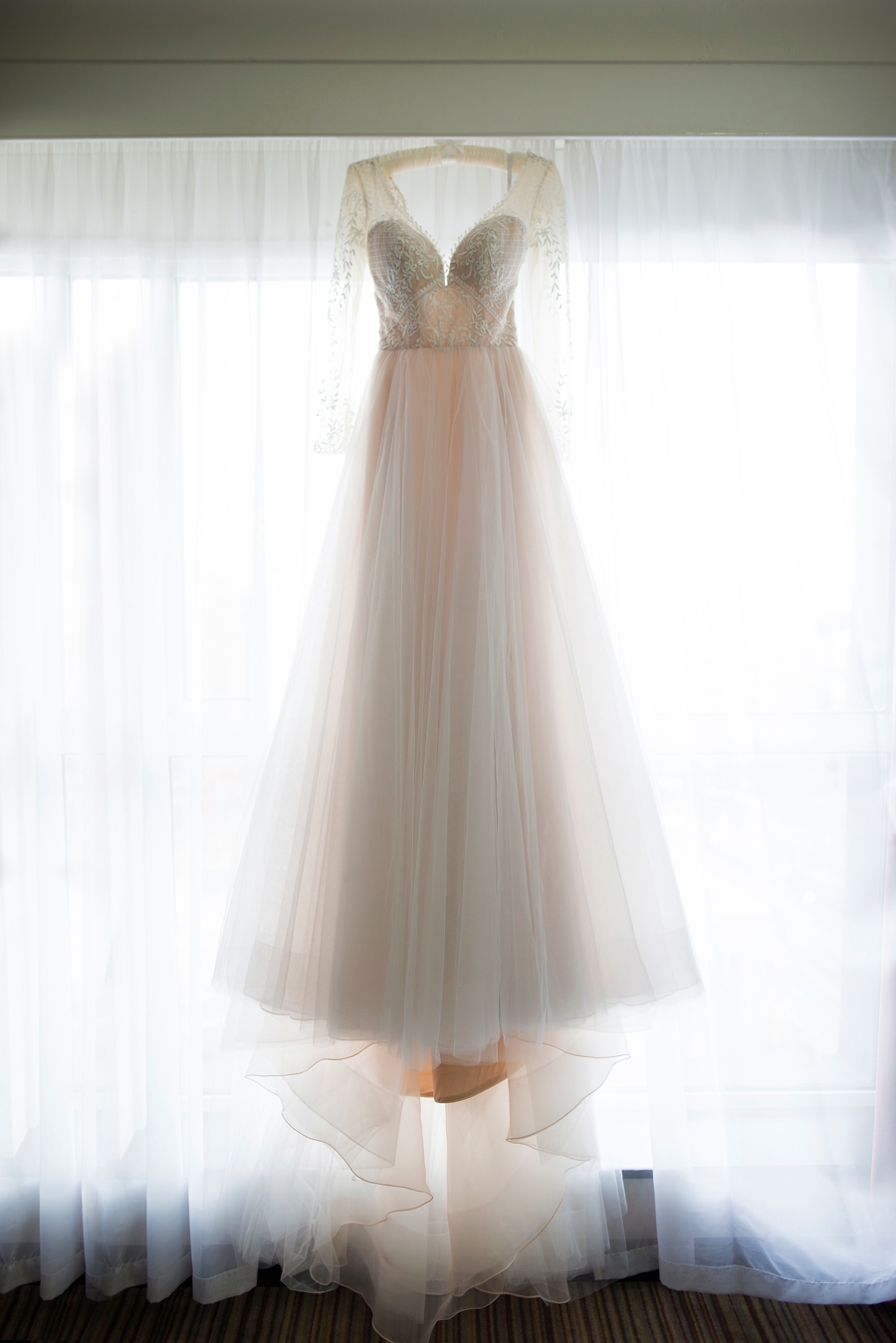 Photo Of Wedding Dress From The Morning Bridal Prep
