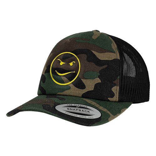 Altern8 'Acid 88' Green Retro Camo Cap