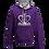 Thumbnail: Rejuvenation Purple & Silver Hoody - Crown Logo