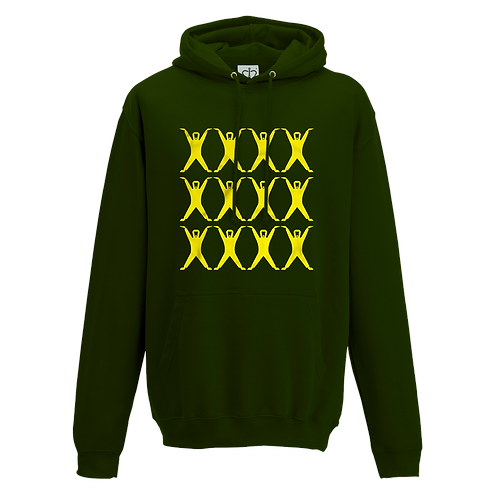 Altern8 'Hypnotic St8' Green Hoody