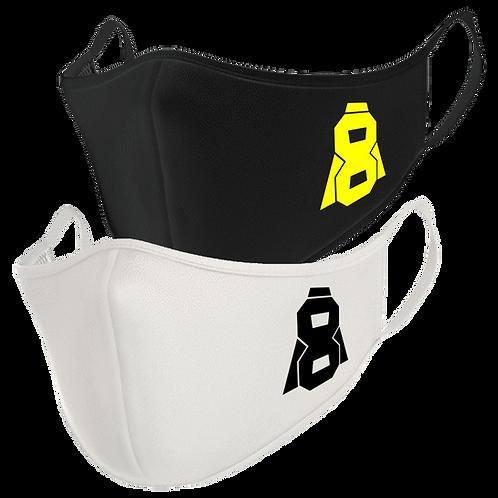 Altern8 Black + White Face Masks (2 Pack)