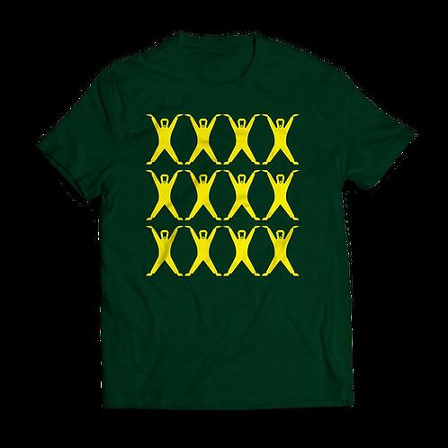 Altern8 'Hypnotic St8' Green T-shirt