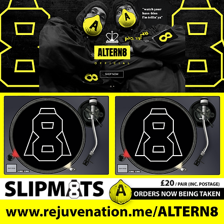 Altern8 A8 Slipmats