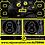 Thumbnail: Altern8 'A8' Black Slipmats (Pair)