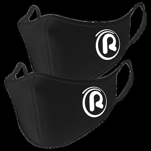 Rejuvenation Black Face Masks (2 Pack)