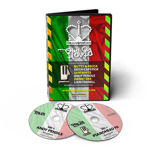 Rejuvenation Italia - 7 CD Pack