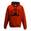 Thumbnail: Rejuvenation Red & Black Hoody - Crown Logo