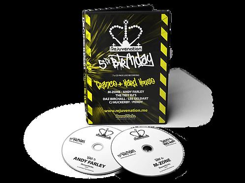 Rejuvenation 5th Birthday - 7 CD Pack (Trance & Hard House)