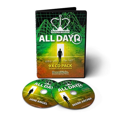 Rejuvenation All Dayer - 9 CD Pack