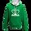 Thumbnail: Rejuvenation Green & White Hoody - Crown Logo
