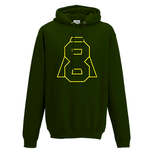 Altern8 'A8' Green Hoody