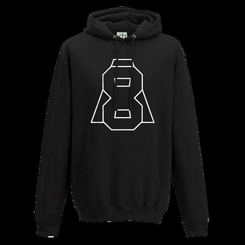 Altern8 'A8' Black Hoody