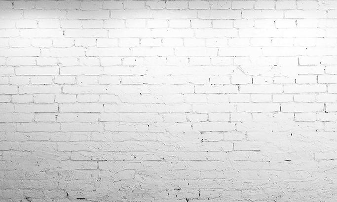 Rejuvenation White Brick Wall