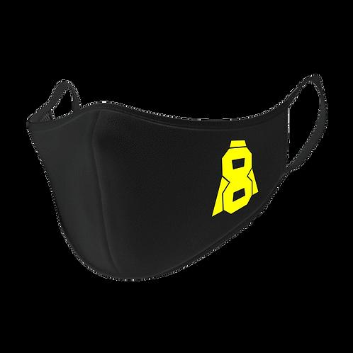 Altern8 Black Face Mask
