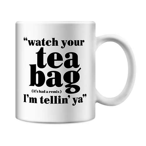 Altern8 'Watch Your Tea Bag' Mug