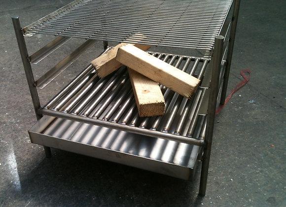 Small Cube Fire Grill BBQ - 400mm