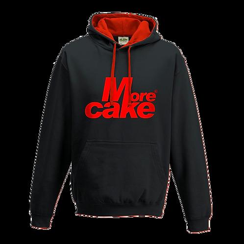 More Cake Black & Red Hoody