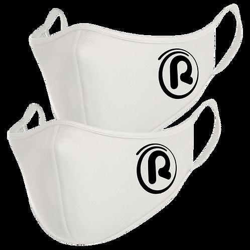 Rejuvenation White Face Masks (2 Pack)