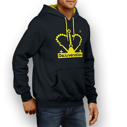 Mens_Rejuve_Hoodie_Navy-Blue_Yellow_Fron