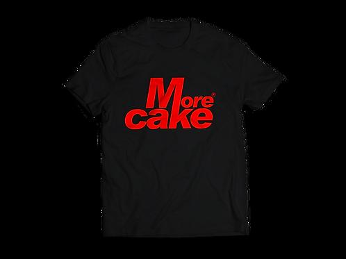 Mens Black More Cake Tshirt