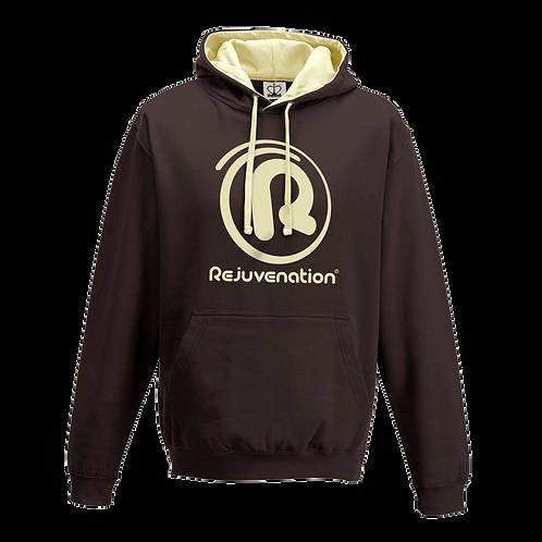 Rejuvenation Brown & Cream Hoody - ® Logo