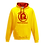 Thumbnail: Rejuvenation Yellow & Red Hoody - ® Logo
