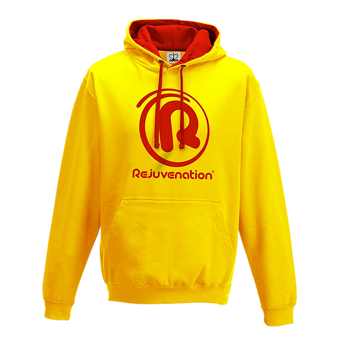 Rejuvenation Yellow & Red Hoody - ® Logo