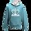 Thumbnail: Rejuvenation Sky Blue & White Hoody - Crown Logo