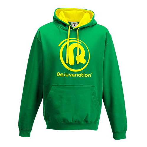 Rejuvenation Green & Yellow Hoody - ® Logo