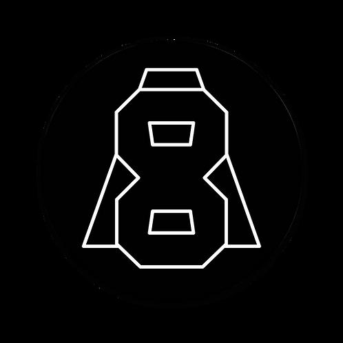 Altern8 'A8' Slipmats (Pair) - Black