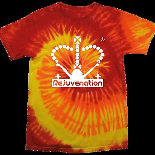Fire Tie-Dye Tshirt