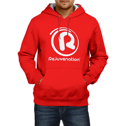 Mens_Rejuve_Hoodie_Red_White_Front.png