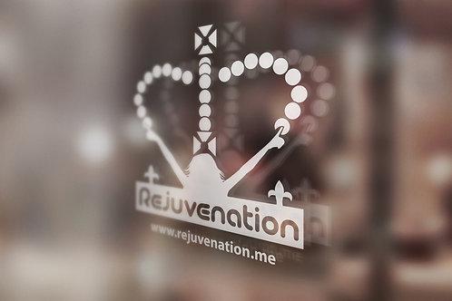 Rejuvenation Crown Window Sticker