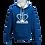 Thumbnail: Rejuvenation Blue & White Hoody - Crown Logo